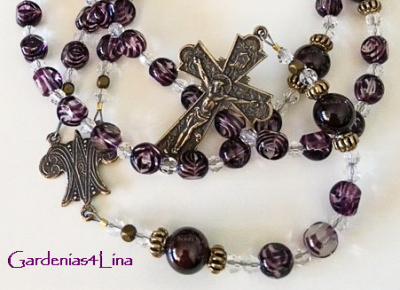 Wine glass and genuine garnet symbolic  of The Wedding at Cana, the first Miracle of Jesus